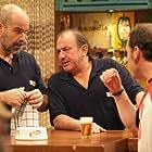 Jesús Bonilla, Antonio Molero, and Antonio Resines in Los Serrano (2003)