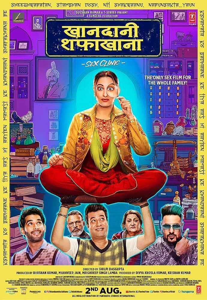 Khandaani Shafakhana (2019) Hindi WEBRip DD 5.1 H264 ESubs