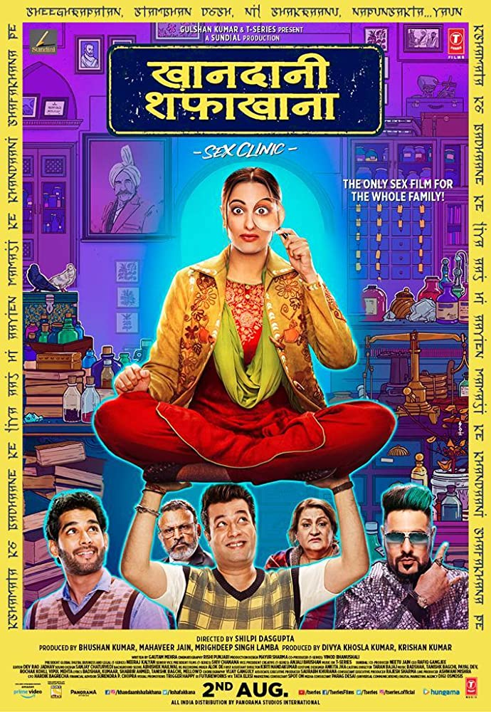 Khandani Shafakhana 2019 Hindi Movie 720p HDRip 1.2GB ESubs