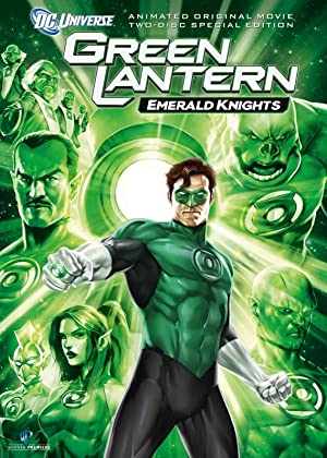 Movie Green Lantern: Emerald Knights (2011)
