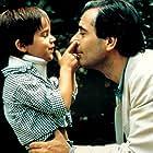 Pierre Arditi and Guillaume Souchet in La passerelle (1988)