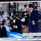 Colin Blakely, Geneviève Page, and Robert Stephens in The Private Life of Sherlock Holmes (1970)