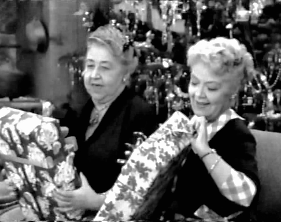 Spring Byington and Verna Felton in December Bride (1954)