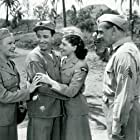 Gloria DeHaven, Danny Davenport, Dennis Day, and June Haver in I'll Get By (1950)