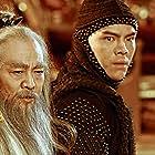 Jet Li and Jacky Heung in Feng shen chuan qi (2016)