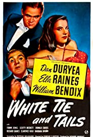 White Tie and Tails Poster