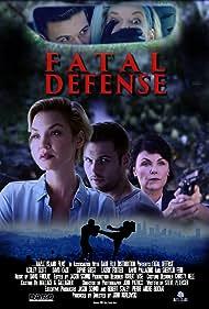 Sherilyn Fenn, Ashley Scott, and David Cade in Fatal Defense (2017)