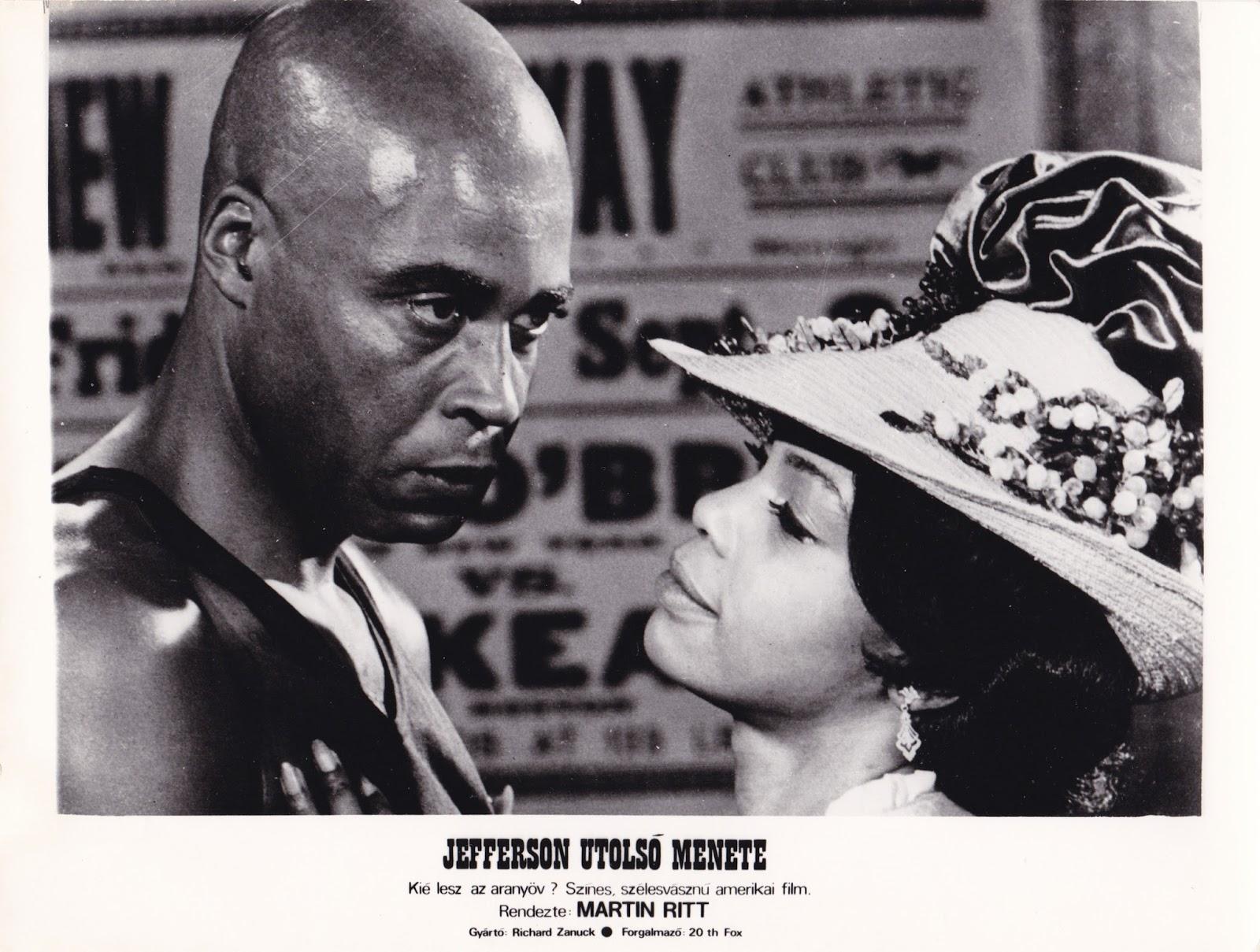 James Earl Jones and Marlene Warfield in The Great White Hope (1970)
