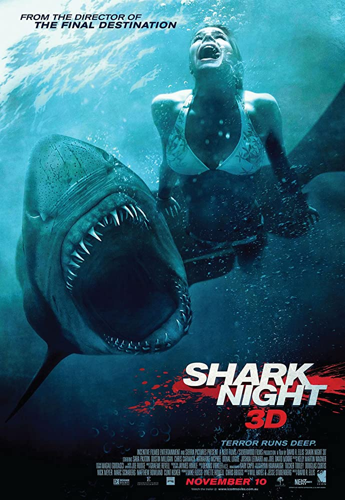 Shark Night 2011 Hindi Dual Audio 480p BluRay ESub 300MB x264 AAC