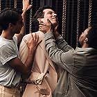 Shubham Saraf, Josh O'Connor, and Fisayo Akinade in Romeo & Juliet (2021)