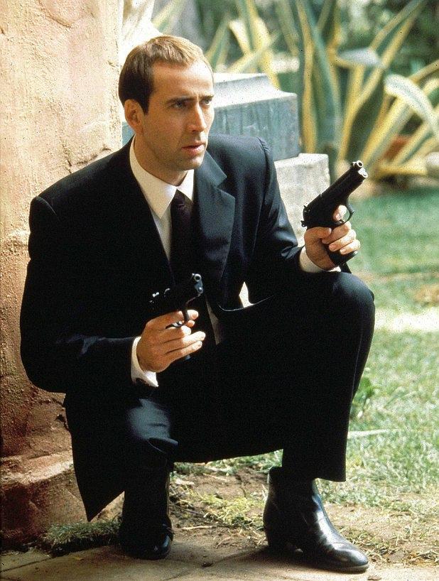 Nicolas Cage in Face/Off (1997)