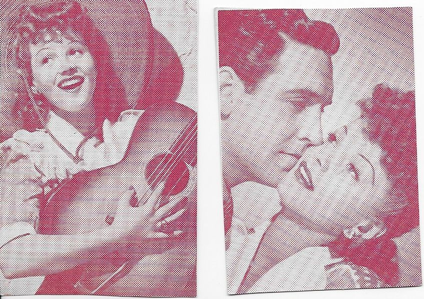 Mary Lou Cook, Jane Frazee, and Robert Paige in San Antonio Rose (1941)