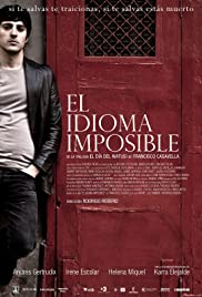 El idioma imposible Poster