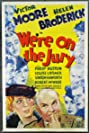 We're on the Jury (1937) Poster