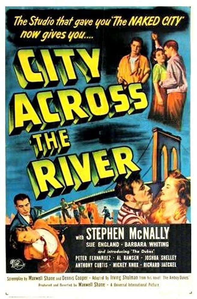 Sue England, Stephen McNally, and Barbara Whiting in City Across the River (1949)