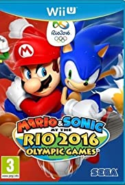 Mario & Sonic at the Rio 2016 Olympic Games Poster