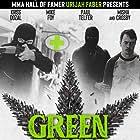 Mike Foy, Paul Telfer, Misha Crosby, and Kriss Dozal in Green Rush (2020)