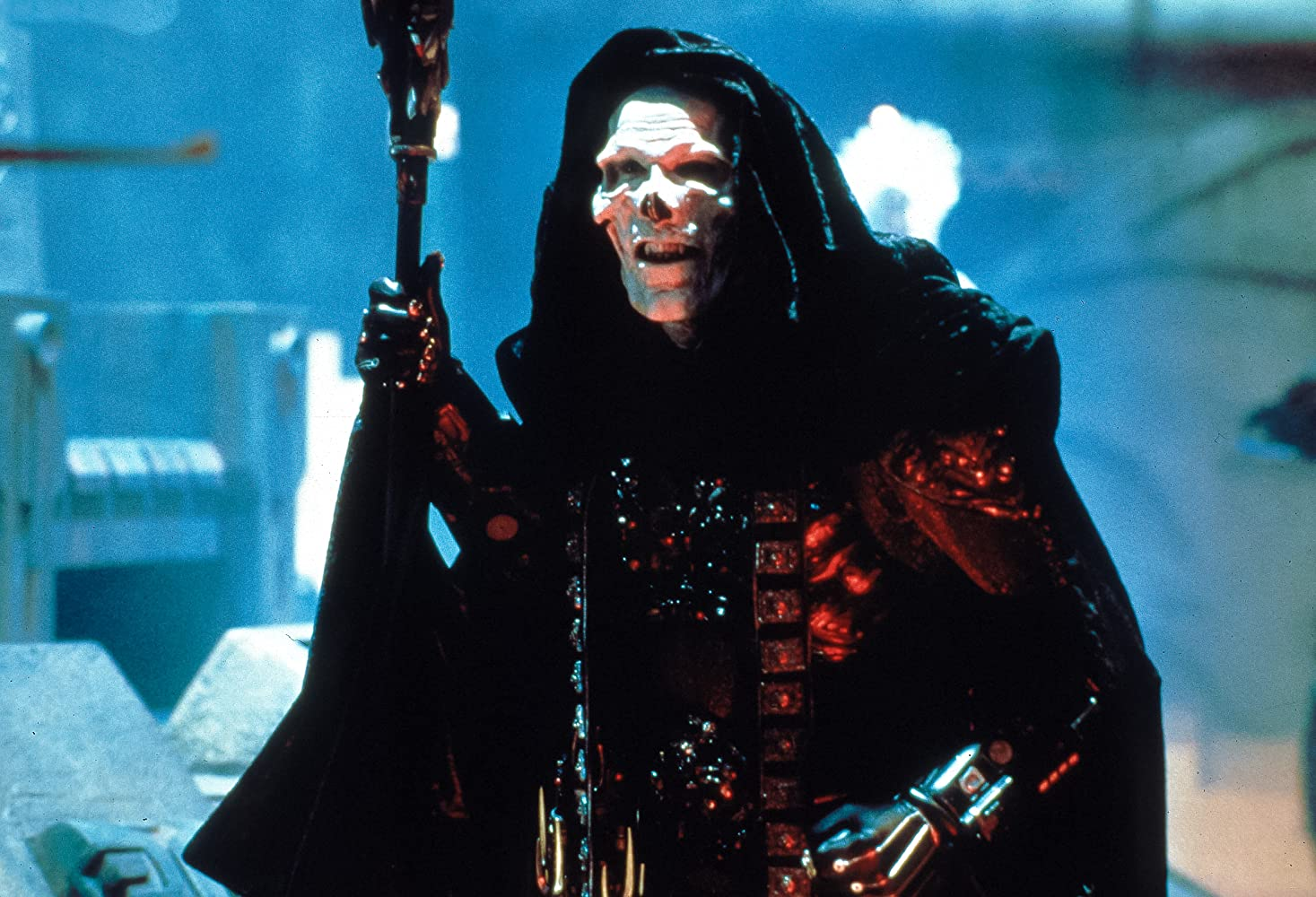 Frank Langella in Masters of the Universe (1987)