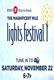 The Magnificent Mile Lights Festival Poster