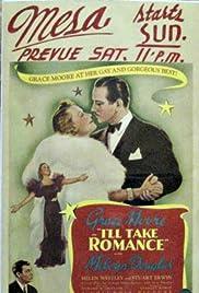 I'll Take Romance Poster