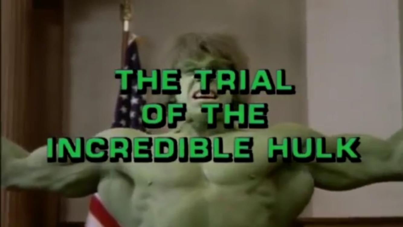 Lou Ferrigno in The Trial of the Incredible Hulk (1989)