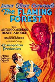 The Flaming Forest Poster