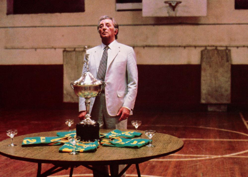 Robert Mitchum in That Championship Season (1982)