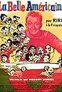 Alfred Adam, Colette Brosset, Robert Burnier, Eliane D'Almeida, Pierre Dac, Bernard Dhéran, Robert Dhéry, Annie Ducaux, and Jacques Fabbri in La belle Américaine (1961)