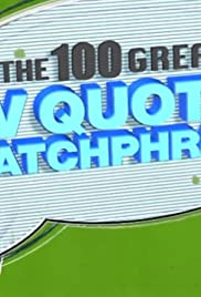 The 100 Greatest TV Quotes & Catchphrases Poster