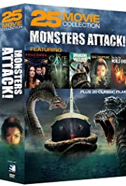 Monsters Attack!: 25 Movie Collection Poster