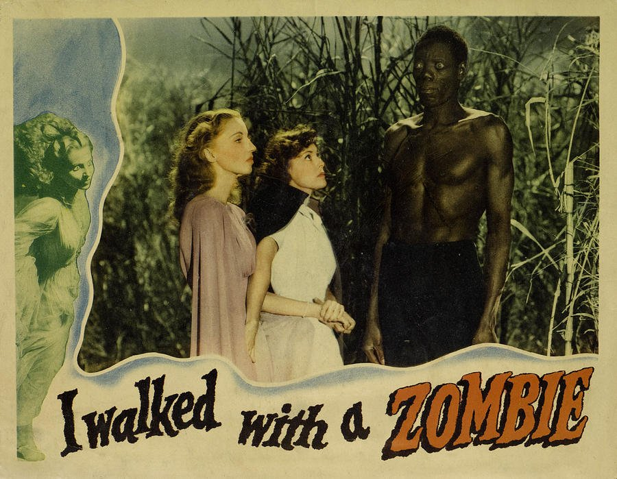Frances Dee, Christine Gordon, and Darby Jones in I Walked with a Zombie (1943)