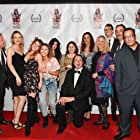 Michael Paul Girard, Heidi Luo, Nika Khitrova, Ellie Patrikios, and Dani Savka at an event for Gam Cam Grrl (2019)