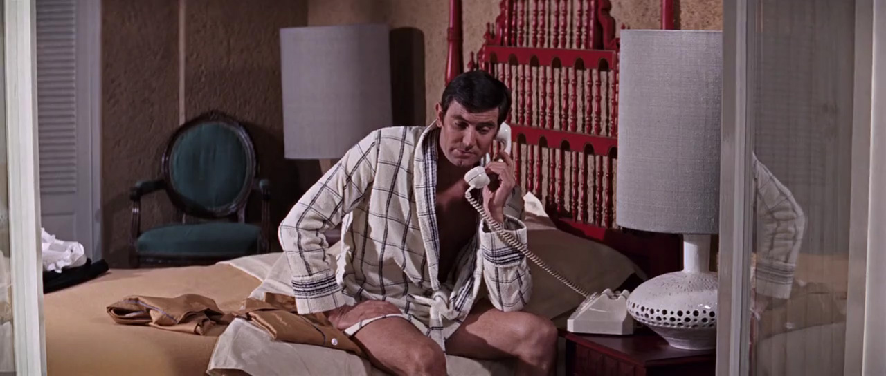 George Lazenby in On Her Majesty's Secret Service (1969)