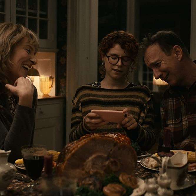 David Thewlis, Toni Collette, and Jessie Buckley in I'm Thinking of Ending Things (2020)