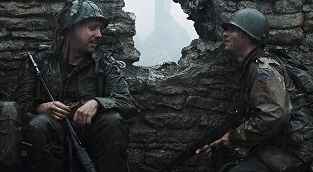 a look at n culls review of the film saving private ryan Saving private ryan was named the best war film of all time in a 2009 poll of movie fans steven spielberg's film is not perfect: it when the initial fighting is over, john williams's moving score accompanies a view of the carnage and we see the name 'ryan s' on a.