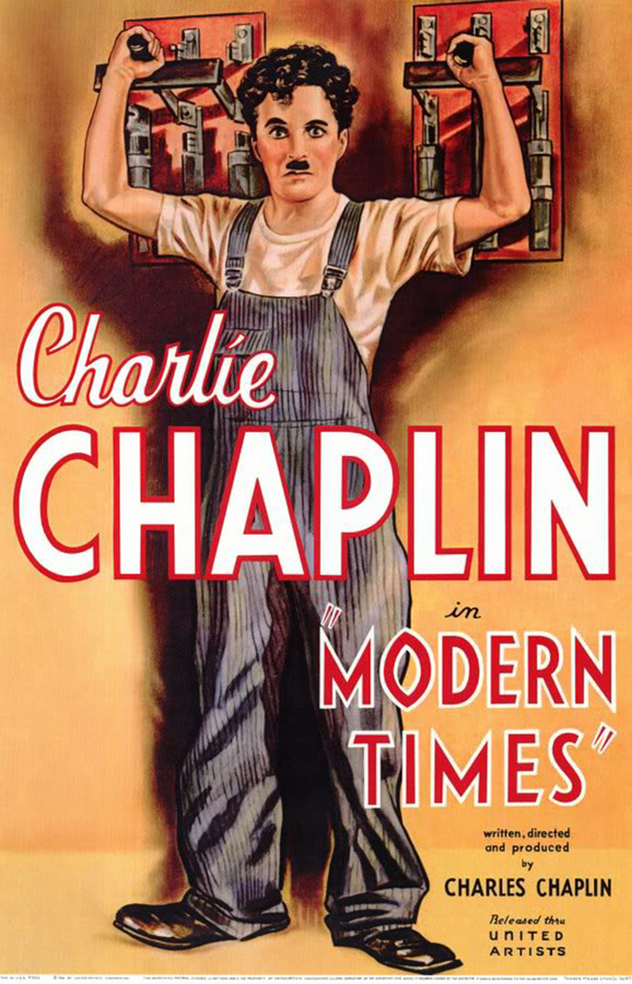 Charlie Chaplin Modern Times (1936) 720p BDRip 500MB- Top Rated