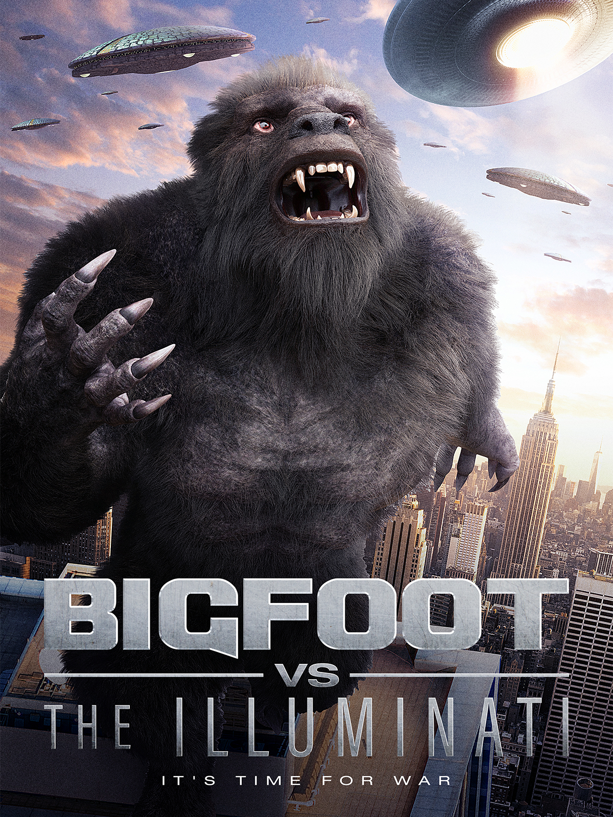 watch Bigfoot vs the Illuminati on soap2day
