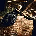 Katarzyna Figura and Andrzej Seweryn in Zemsta (2002)