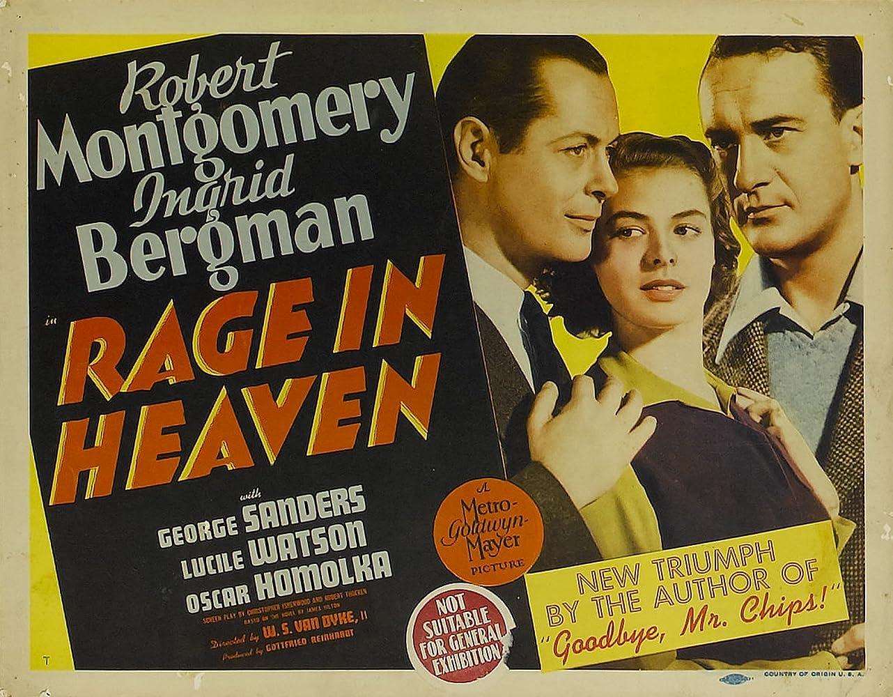 Rage in Heaven (1941)