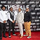 Christian Jae, Stefan Davis, Andre Hesson, and Ackeem Gibbs at an event for The Tale of the Fatherless (2021)