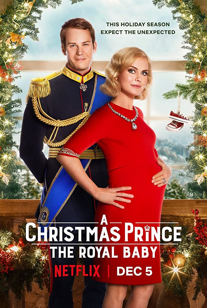 Poster film A Christmas Prince: The Royal Baby (2019)