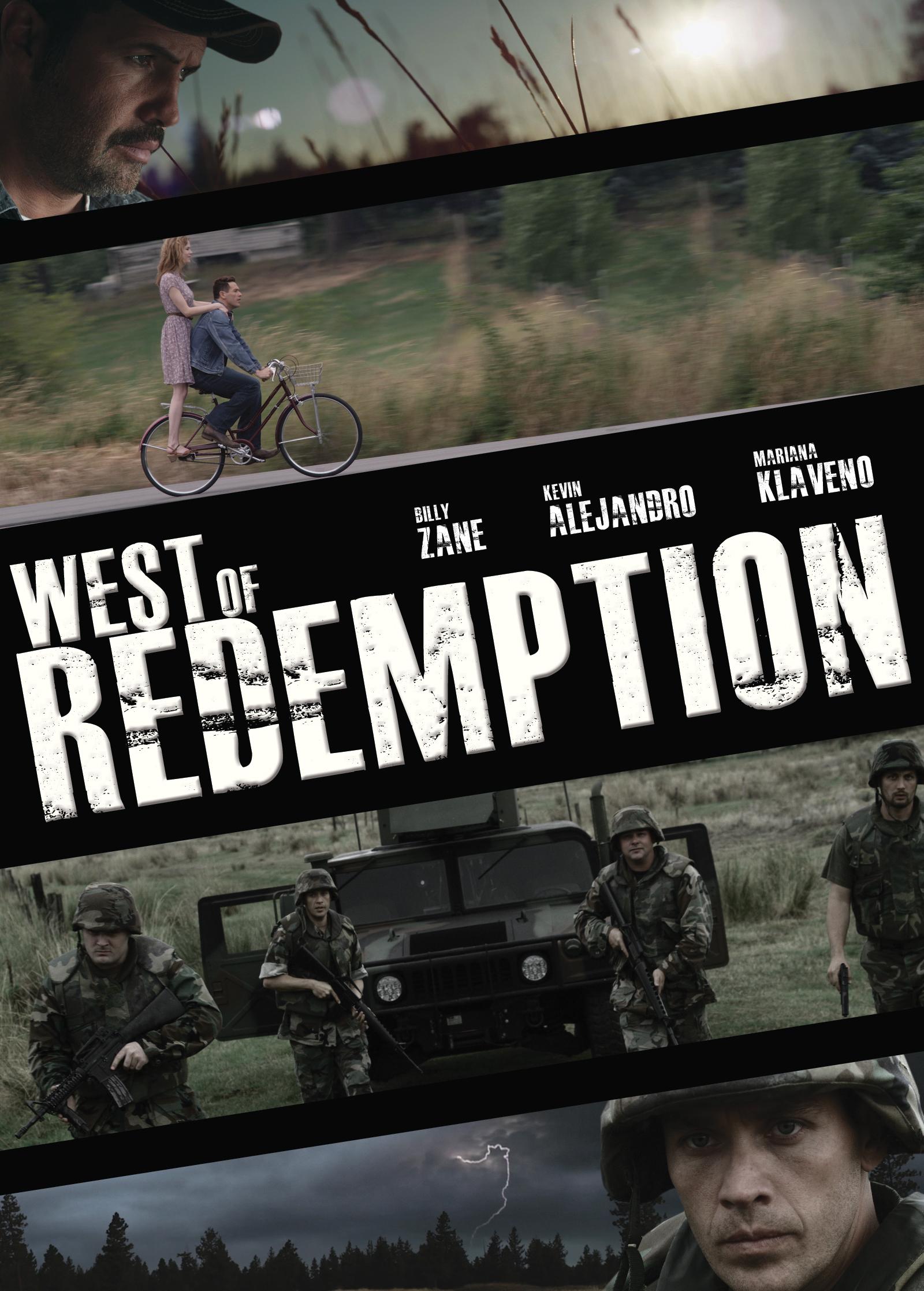 Billy Zane, Kevin Alejandro, and Mariana Klaveno in West of Redemption (2015)