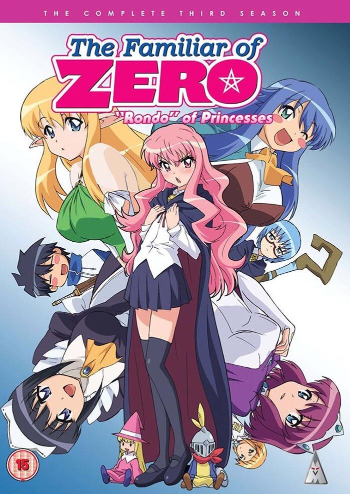 دانلود زیرنویس فارسی سریال The Familiar of Zero: Rondo of Princesses