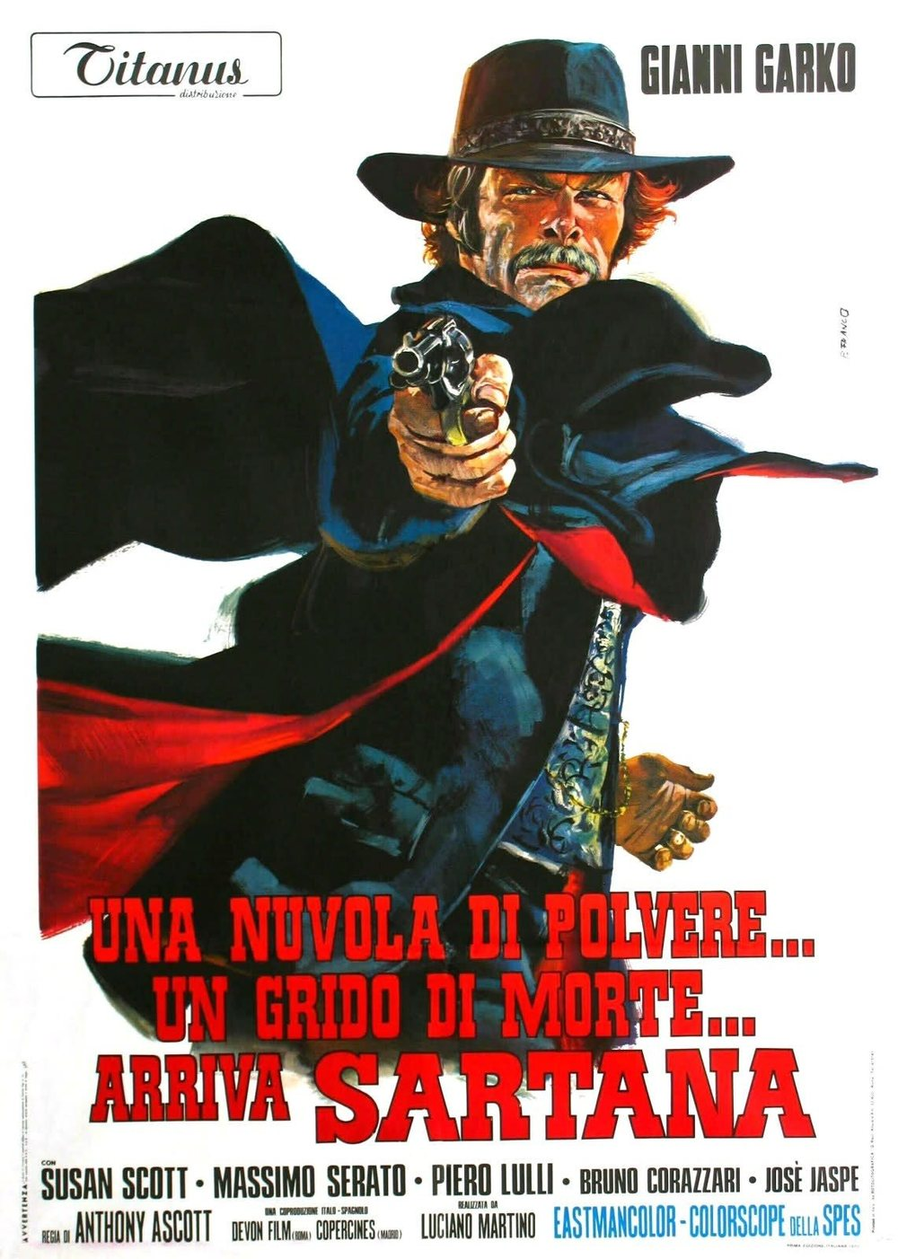 Image result for Una Nuvola di Polvere….un Grido di Morte….Arriva Sartana (A Cloud of Dust….A Cry of Death….Sartana is Coming/Light the Fuse….Sartana is Coming)