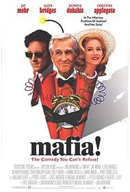 Christina Applegate, Lloyd Bridges, and Jay Mohr in Jane Austen's Mafia! (1998)