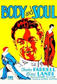 Body and Soul (1931) Poster - Movie Forum, Cast, Reviews