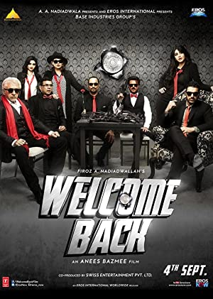 Download Welcome Back (2015) Hindi Movie 720p | 480p BluRay 1.3GB | 400MB