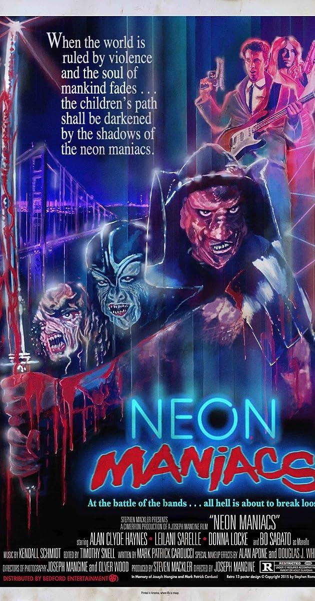 Subtitle of Neon Maniacs