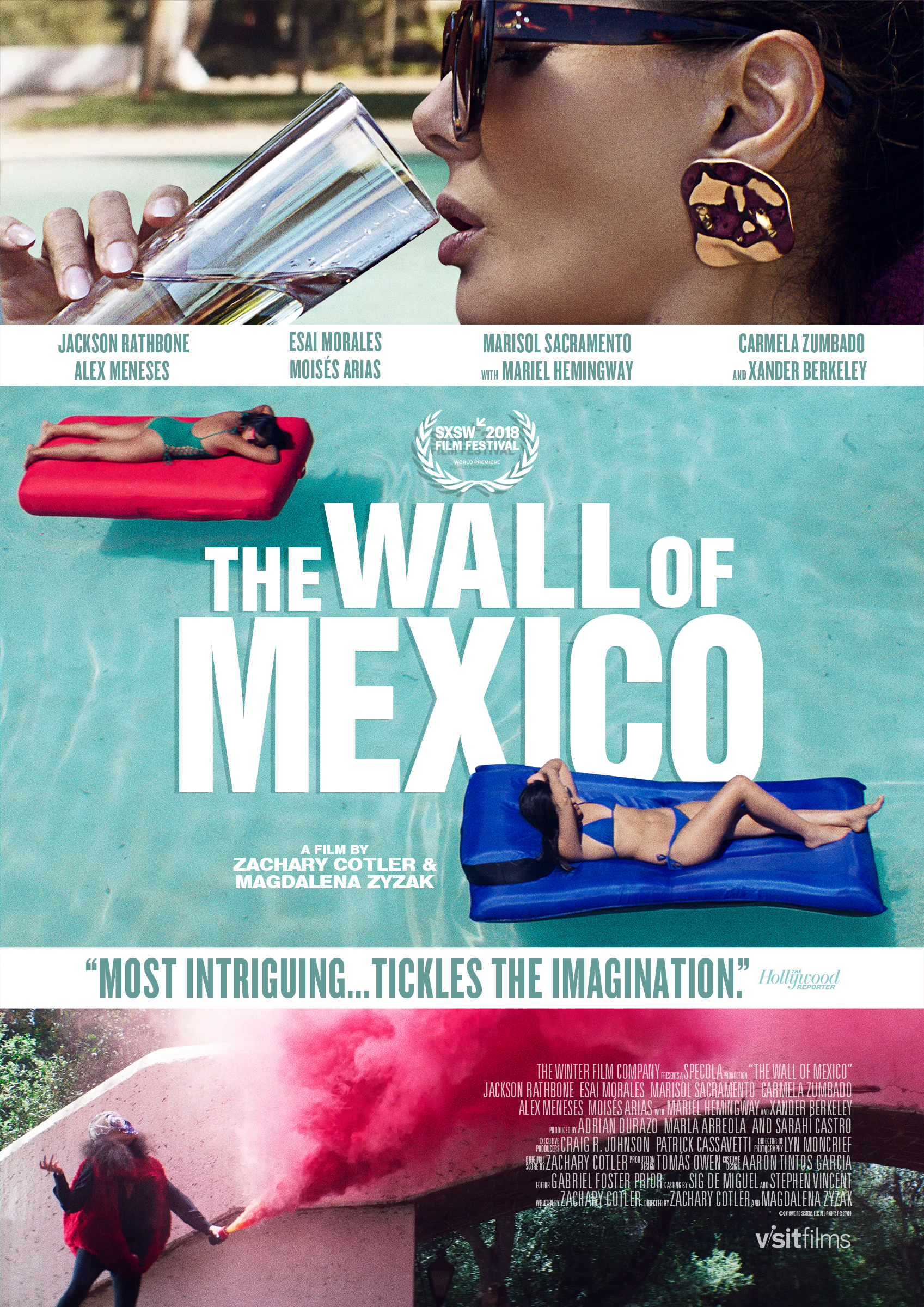 The Wall of Mexico (2019) English 720p WEB-DL 800MB ESub