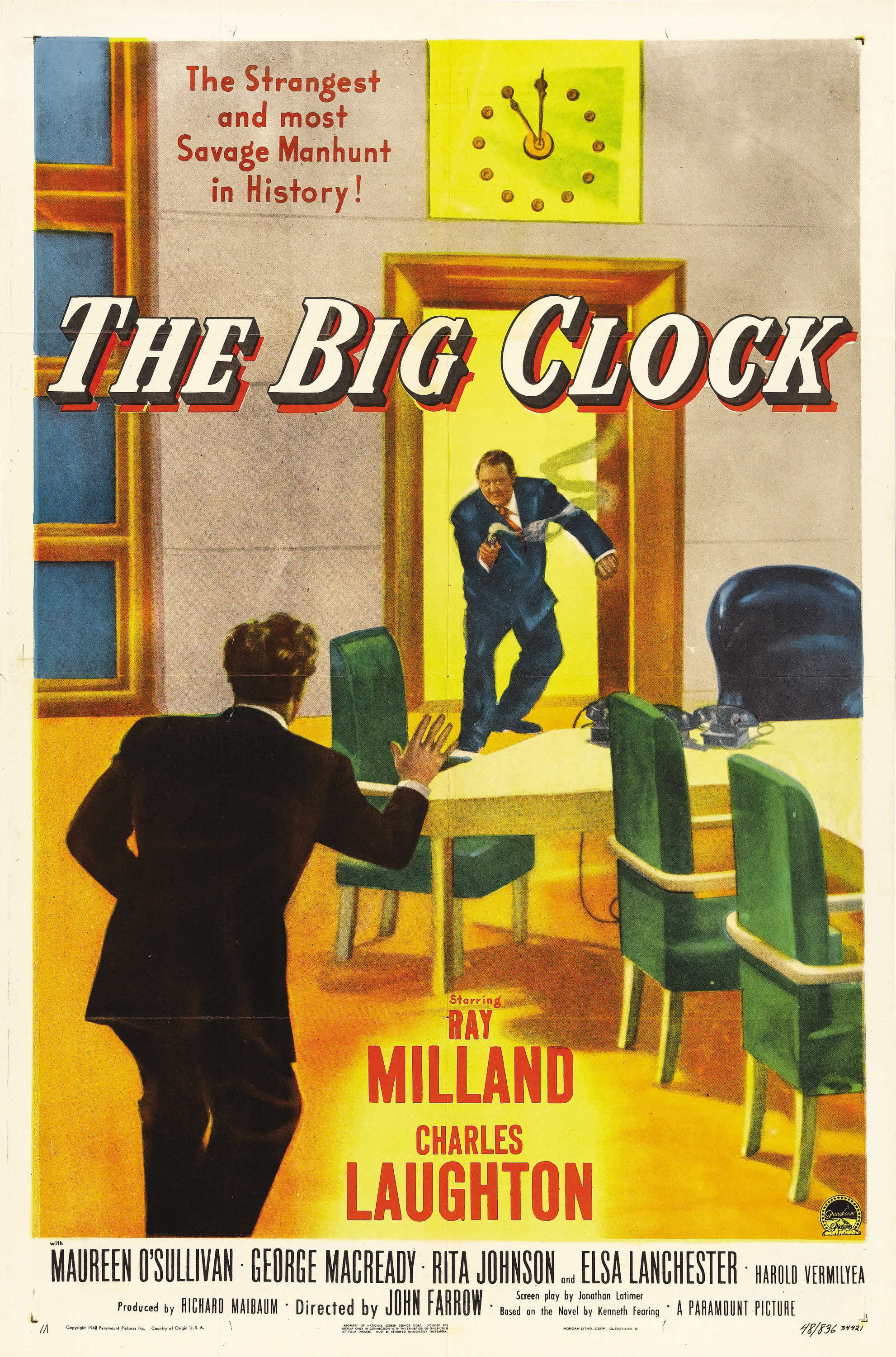 The Big Clock (1948) - IMDb